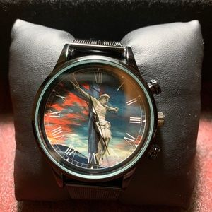Metal band RELIGIOUS watch. *UNISEX*